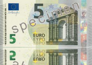 Nuevo billete de 5 €