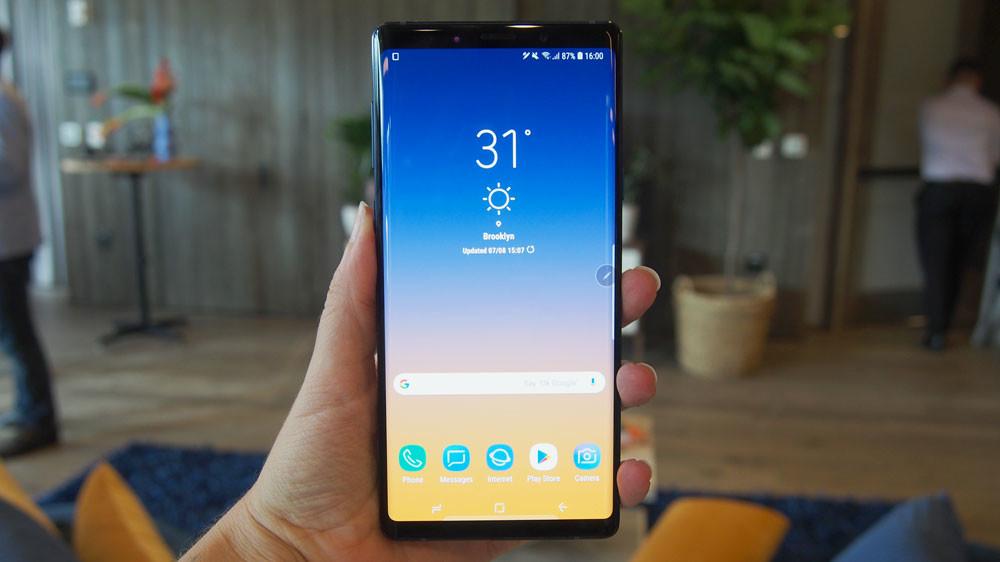 Despliegue de los nuevos Samsung Galaxy Note 9 en tiendas Orange, Vodafone y Movistar
