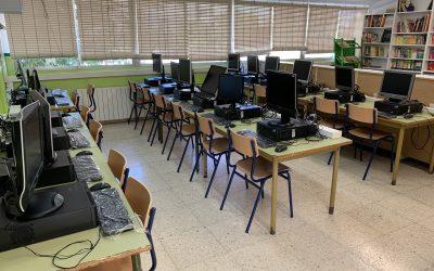 Instalación de 23.605 ordenadores en centros educativos de la Región de Murcia