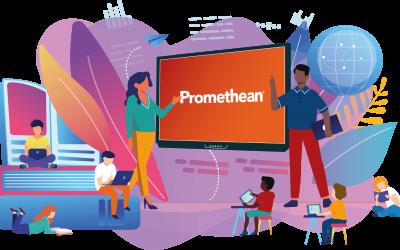 Instalación de más de 300 pantallas táctiles Promethean en centros educativos de la Región de Murcia